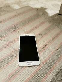 Samsung s6 in white with version 2 vr headset