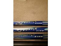Diawa Strongbeam 13 metre Carp Pole with two elasticated top sections. Good condition with holdall.