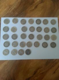 2 pound coins & 50p coins olympic ,commonwealth etc huge selection