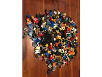 Lego Minifigure and accessories lot