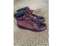 Timberland leather boots size uk 6/6.5