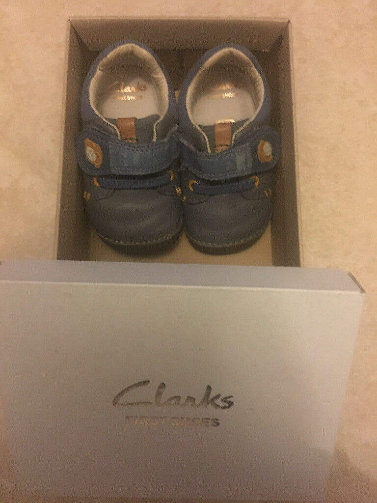 Clarks Baby Shoes (size 3)