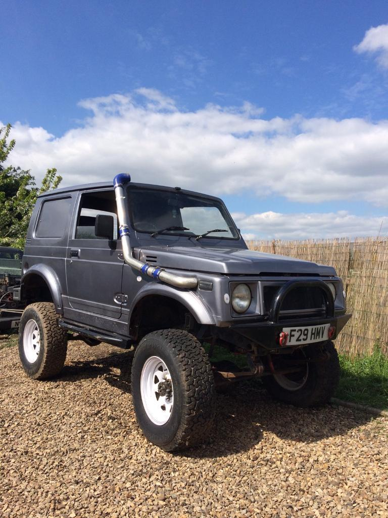 suzuki samurai sj 413 isuzu in boston lincolnshire gumtree. Black Bedroom Furniture Sets. Home Design Ideas