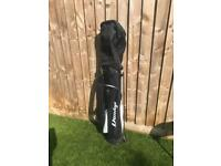 Junior Dunlop Golf Clubs including bag