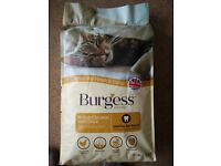 BURGESS ADULT COMPLETE CAT FOOD WITH DENTAL DEFENCE BRITISH CHICKEN WITH DUCK