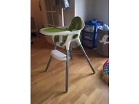 Mamas & Papas High chair £20 includes free items!!