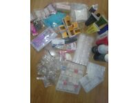 Small collection of varios nail tips etc