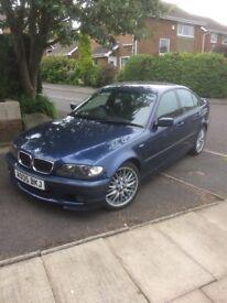 BMW 320d m sport 05 plate