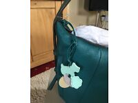 Brand new Teal Radley Handbag. Tags still attached and comes in a Radley Box.