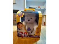 Fur Real Luv Cubs Polar Bear - the lovable, huggable bear that reaches out to hug you