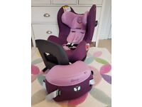 Cybex Sirona 360 Swivel Carseat Group 0/1+ Princess Pink and Summer Cover