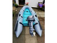 Bombard inflatable boat rib with 8hp Yamaha as good as new
