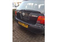 Volkswagen Golf Match 1.6L for sale