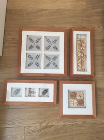 Set of 4 pictures