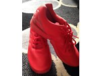 Adidas Torsion ZX Trainers in Red Size 7