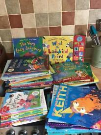 Bundle of 58 children's books