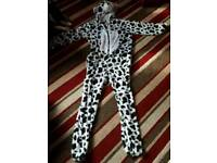 2 size large halloween costumes