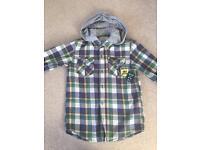 Boys Mantaray Hooded Shirt - Age 8 Years