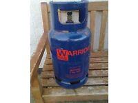 full 7kg bottle of butane gas