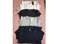 TOMMY HILFIGER T shirts x4 size large