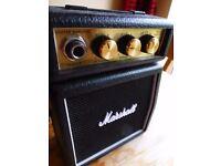 Marshall mini guitar amp MS2