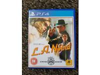 LA Noire - PS4 - Like New
