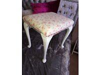 Dressing stool cath kidston fabric
