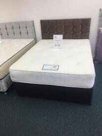 Devin Bed with 10 inch memory foam duel side Mattress