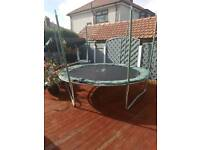 12ft Trampoline with tent top