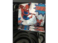 Spider man wallpaper 3 roll brand new only open one to show picture . Bought for 8.99£