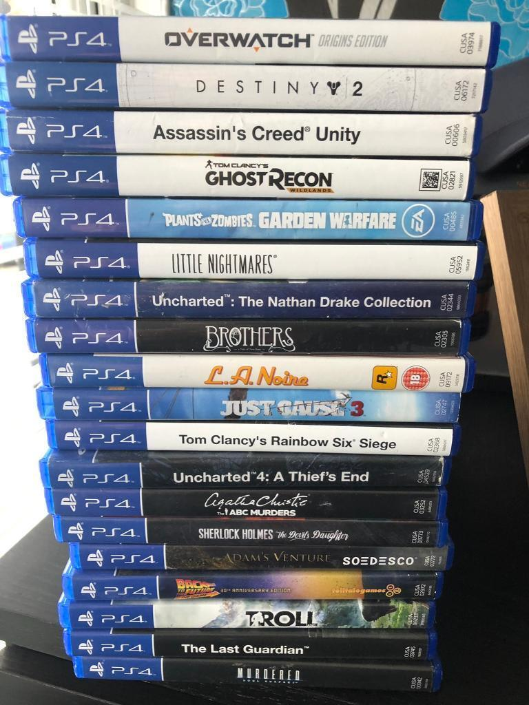 PS4 games   in Exhall, West Midlands   Gumtree