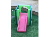 Little tykes first slide gym. For sale in elc at £90