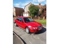 Rover 25 1.4 16v 12 months mot service history cheap to run ideal first car