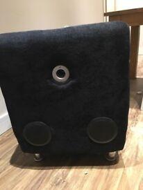 Upholstered Bluetooth Speaker