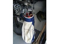 John Letters full set irons with mixed woods