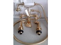 New Bristan Luxury Bathroom-shower mixer Gold plated