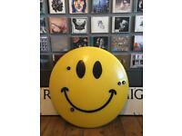 Ex Police Riot Shield Acid House Rave Smiley Face Banksy D*Face Jimmy Cauty Graffiti Street Art #2