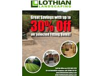 Spring sale landscaping decking patios paving Slabbing turf fences walls steps clear ups