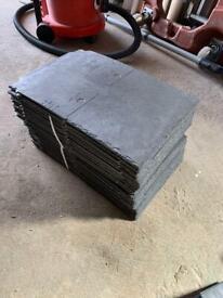 Tapco roof slates (pewter grey)