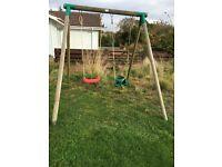 Children's Outdoor Little Tykes double Swing