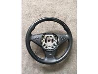 BMW 5 series steering wheel