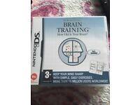 Nintendo ds brains training