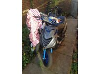 Here I have my zip for sale 70cc