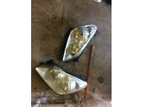 2008 Vauxhall Astra pair of front headlights - can post