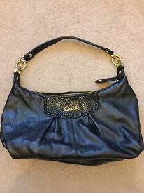 Coach handbag (black, small)