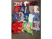 18 pairs of boys pyjamas