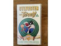SYLVESTER & TWEETY - ORIGINAL VHS VIDEO - RARE!