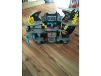 Imaginext super friends dc batcave