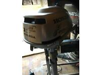 1999 HONDA 2hp AIRCOOLED OUTBOARD SHORT SHAFT