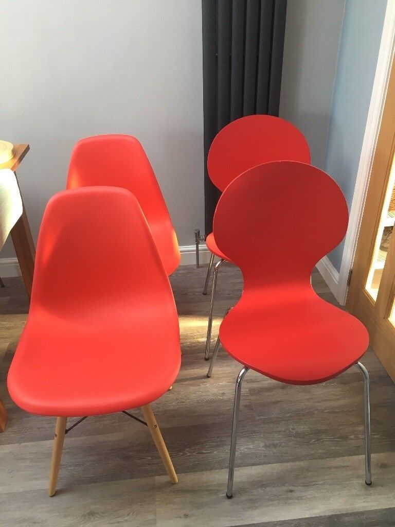 Red Kitchen Chairs